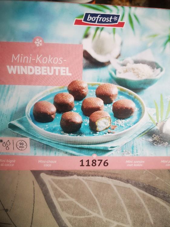 Mini-Kokos-Windbeutel von CocoChanelle | Hochgeladen von: CocoChanelle