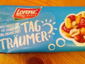 Tag Träumer, Nuss-Frucht-Mix mit Cranberries und Joghurt Pop | Hochgeladen von: lgnt
