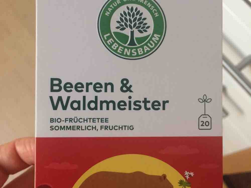 Lebensbaum Beeren Waldmeister Tee von heidip   Hochgeladen von: heidip