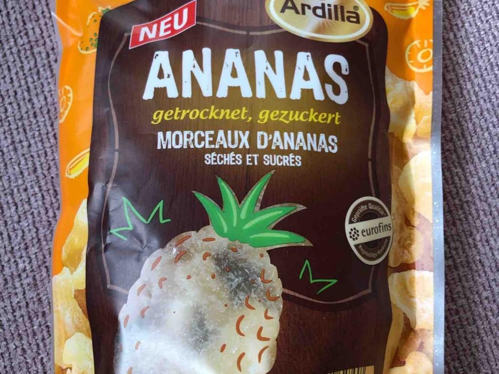 Ananas  getrocknet, gezuckert von alexandra.habermeier   Hochgeladen von: alexandra.habermeier