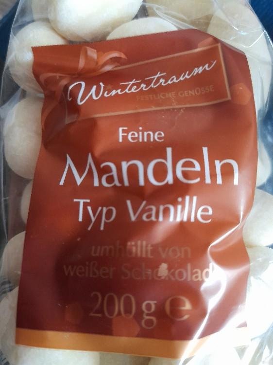Feine Mandeln umhüllt von weißer Schokolade, Typ Vanille von Rubensbaer   Hochgeladen von: Rubensbaer