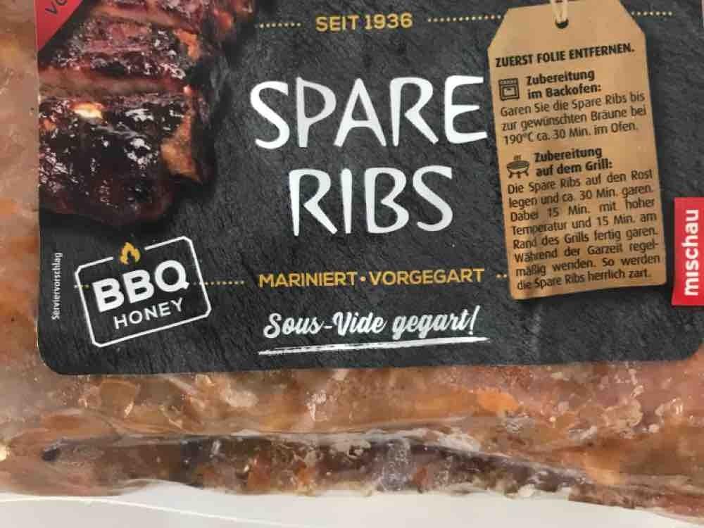 Spareribs, BBQ Honey Mariniert und vorgegart von pdz83 | Hochgeladen von: pdz83