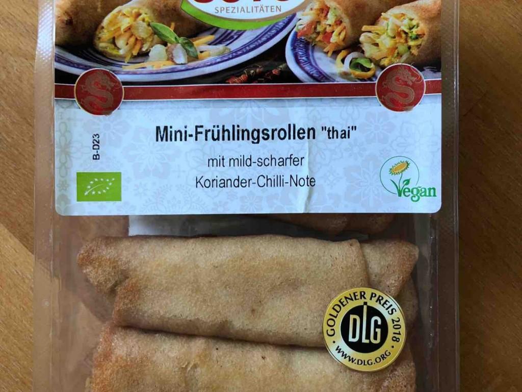 Mini-Frühlingsrollen, Thai vegan von Claus85 | Hochgeladen von: Claus85