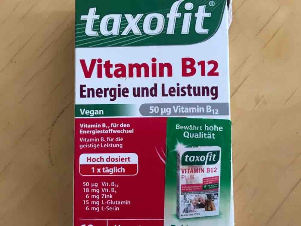 taxofit B12, Energie und Leistung von ralfroppelt936 | Hochgeladen von: ralfroppelt936