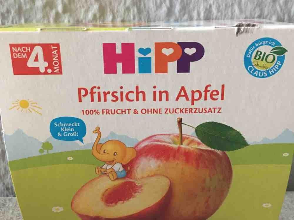 Hipp- Pfirsich in Apfel, 0,1 von Becky79 | Hochgeladen von: Becky79