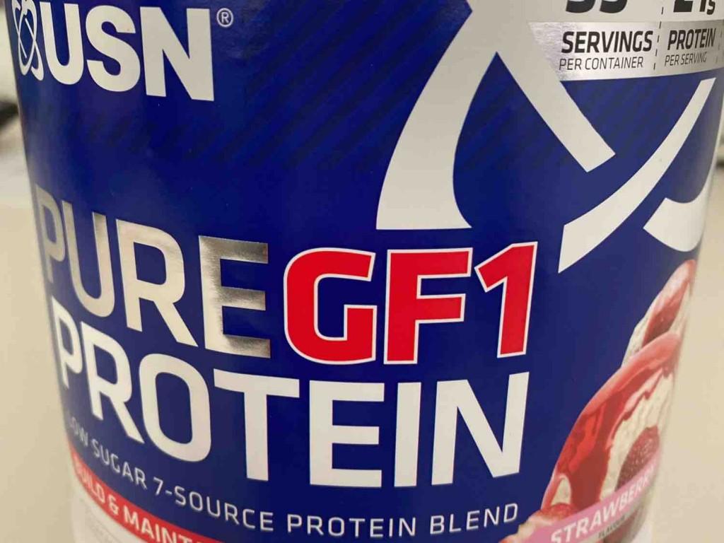 Pure GF1 Proteil Erdbeer von supermamikirsten | Hochgeladen von: supermamikirsten