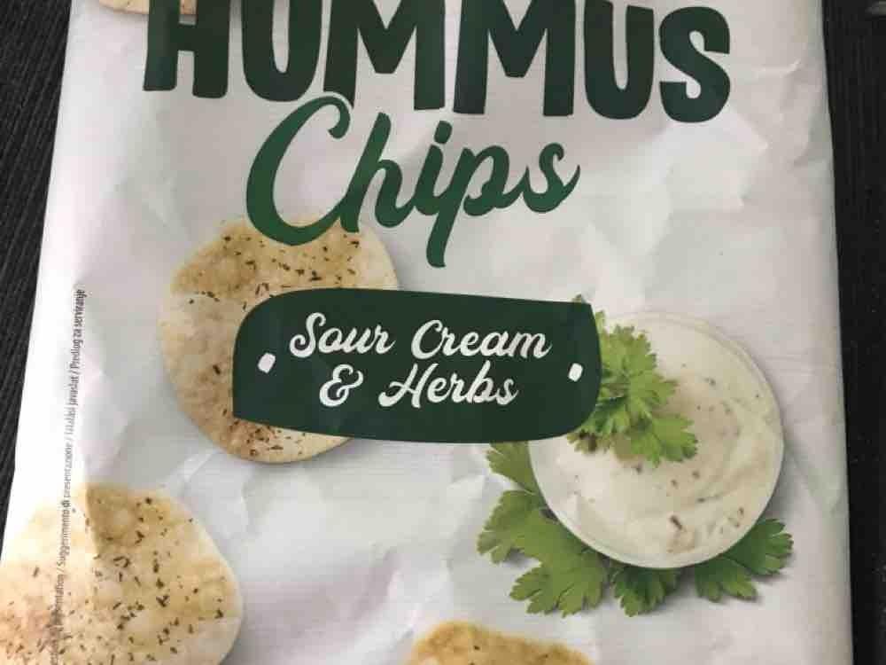 Hummus Chips, Sour Cream & Herbs von Sams81 | Hochgeladen von: Sams81