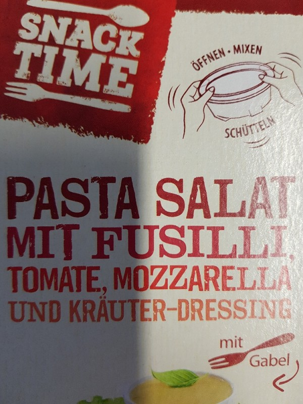 PASTA SALAT MIT FUSILLI, Tomate, Mozzarella, und Kräuter-Dressing von stephaniejaehni747 | Hochgeladen von: stephaniejaehni747