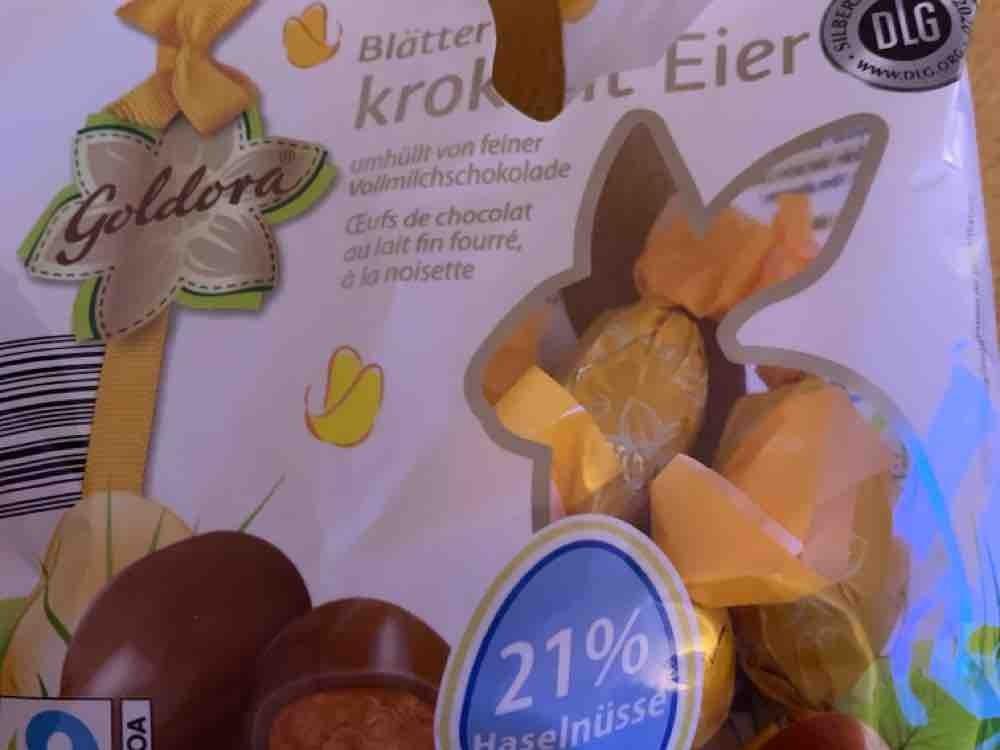 Blätter-Krokant Eier, Goldora von svenschi571 | Hochgeladen von: svenschi571