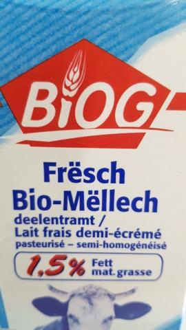 Biog frische Milch 1,5 % von Moky   Hochgeladen von: Moky