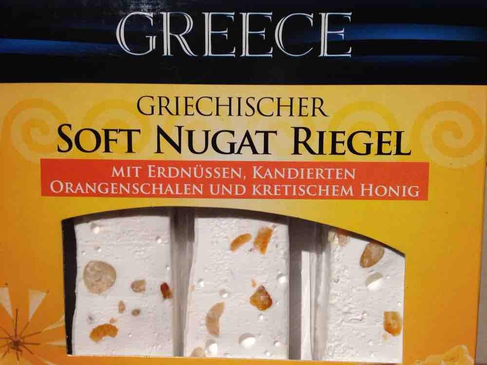 Soft Nugat Riegel Erdnuss & Orange (Aldi) von UDI1212   Hochgeladen von: UDI1212