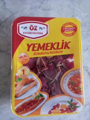 Rinderschinken Türkisch von avsar7860   Hochgeladen von: avsar7860