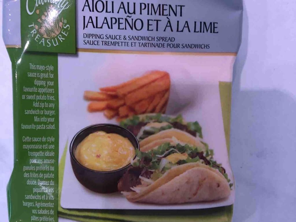Jalapeno Lime Aioli, Dipping Sauce Culinary Treasures von kuschelbaerch | Hochgeladen von: kuschelbaerch