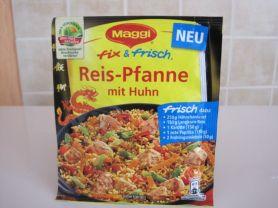 Maggi fix u. frisch, Reis-Pfanne mit Huhn | Hochgeladen von: belinda