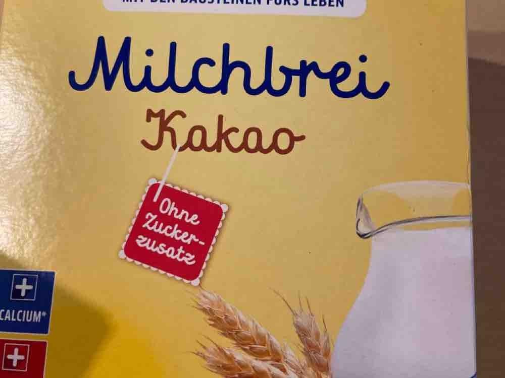Milchbrei, Schoko von Krake | Hochgeladen von: Krake