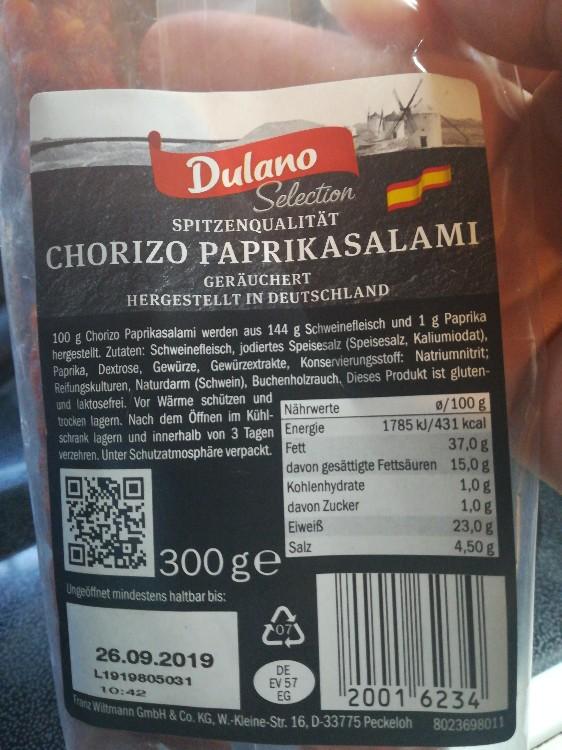 Original Spanische Salami, Chorizo Sarta Mild von Babsihexi   Hochgeladen von: Babsihexi