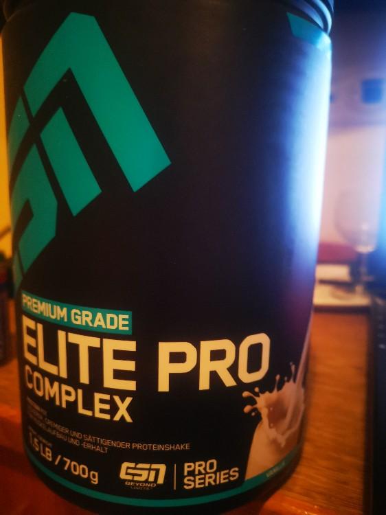 ESN Elite PRO Complex Vanilla, Vanilla 4 Komponenten Eiweiß von schulzdavid   Hochgeladen von: schulzdavid