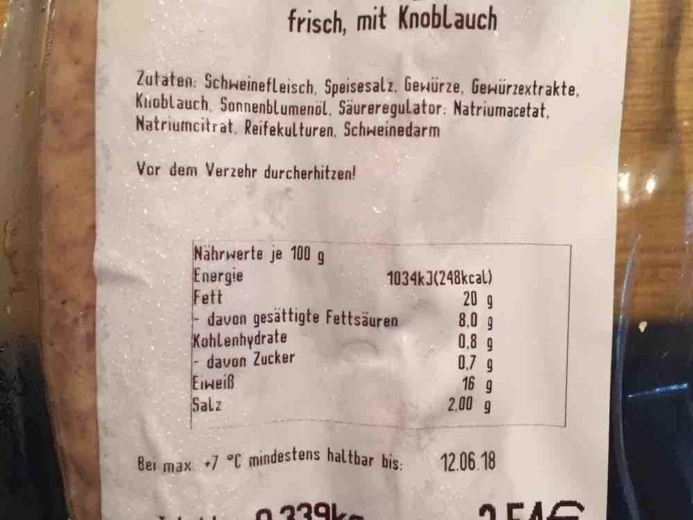 Bratwurst mit Paprika Siebenbürger Art, frisch, mit Knoblauch von Fabyious | Hochgeladen von: Fabyious