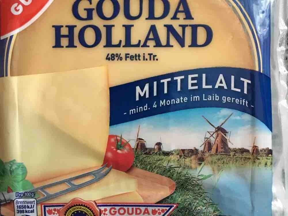 Gouda Holland 48% Fett, mittelalt von Socki | Hochgeladen von: Socki
