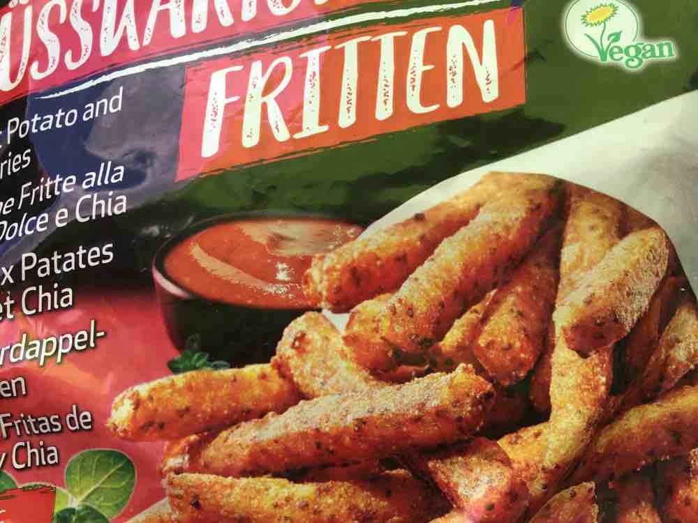 Süßkartoffel Chia Fritten von petroselium   Hochgeladen von: petroselium