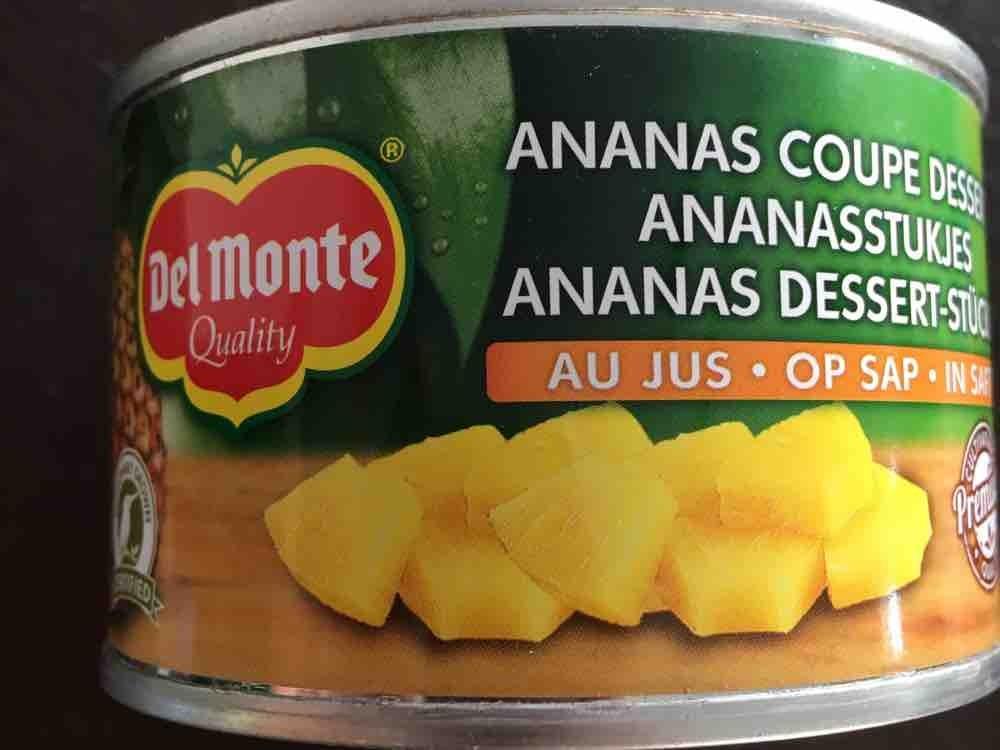 Ananas Dessert Stücke , In Saft von gingerino   Hochgeladen von: gingerino