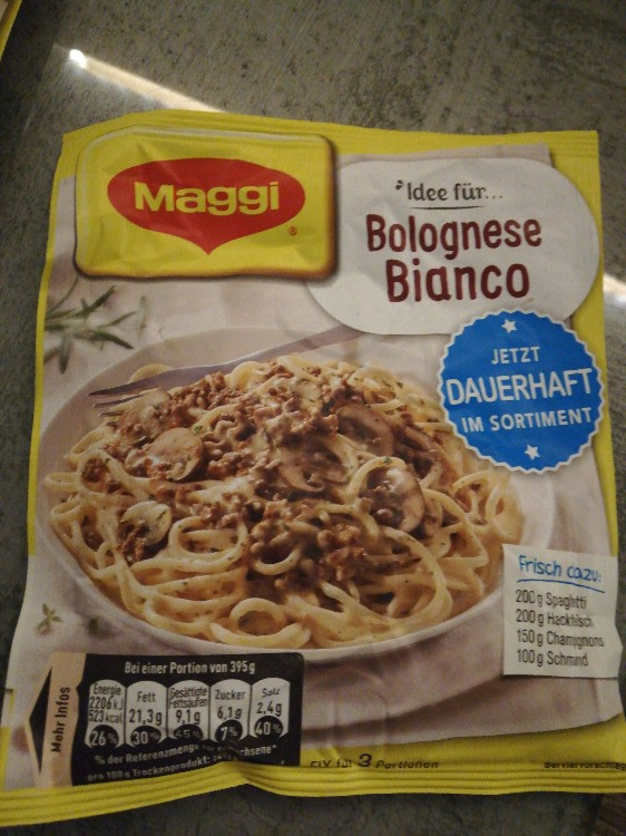 Maggi, Idee für, Bolognese Bianco Kalorien - Saucen ...
