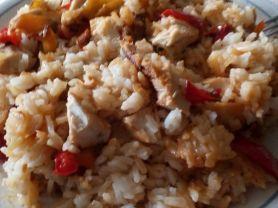 Paprika-Hähnchen-Pfanne | Hochgeladen von: Seidenweberin