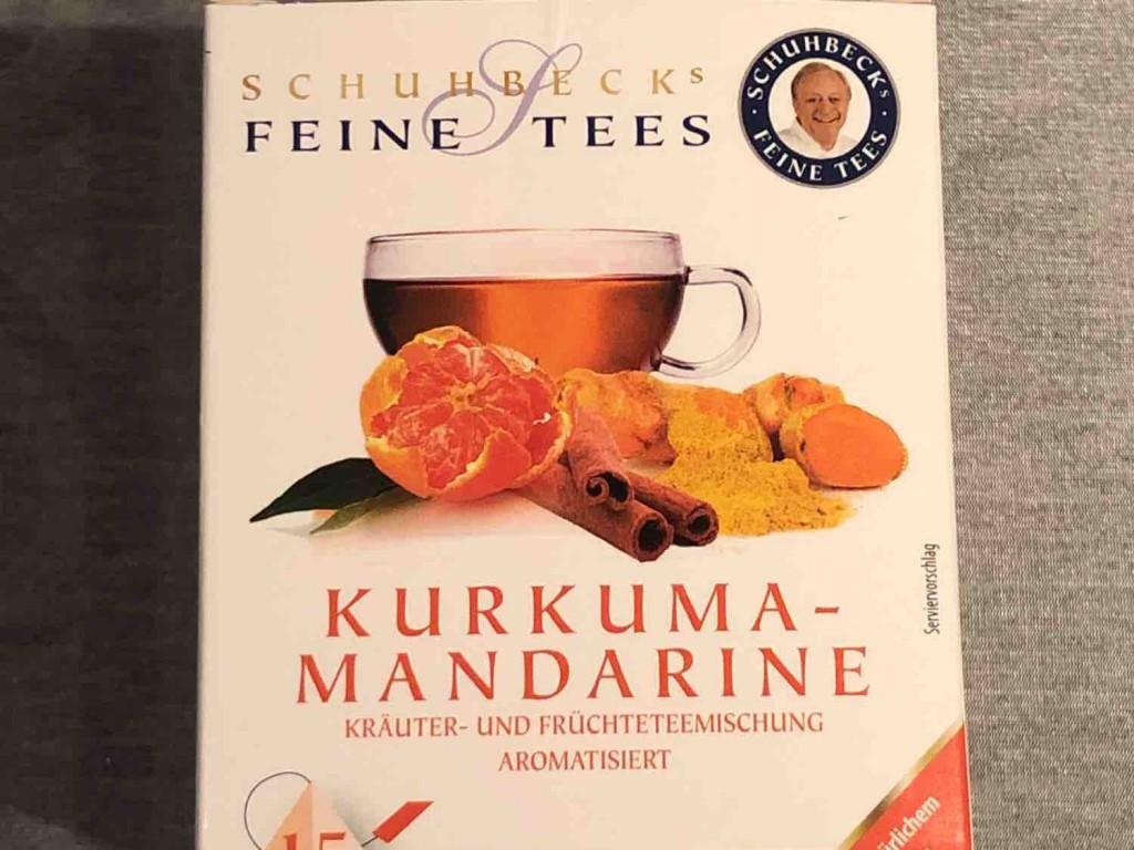 Kurkuma-Mandarine-Tee von Fergy | Hochgeladen von: Fergy
