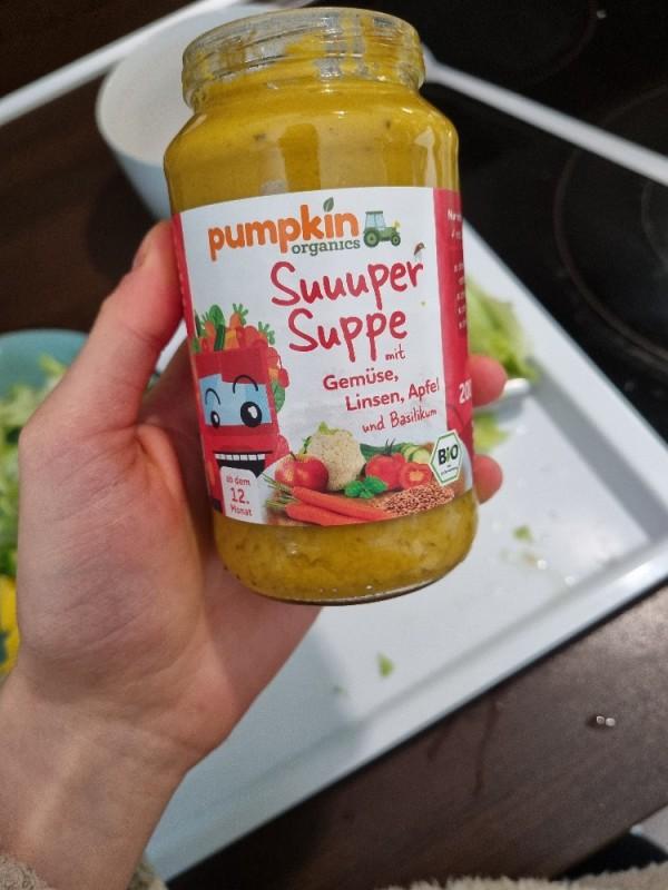 pumpkin, Suuuper Suppe mit Gemüse, Linsen, Apfel und Basi von Lara1608 | Hochgeladen von: Lara1608