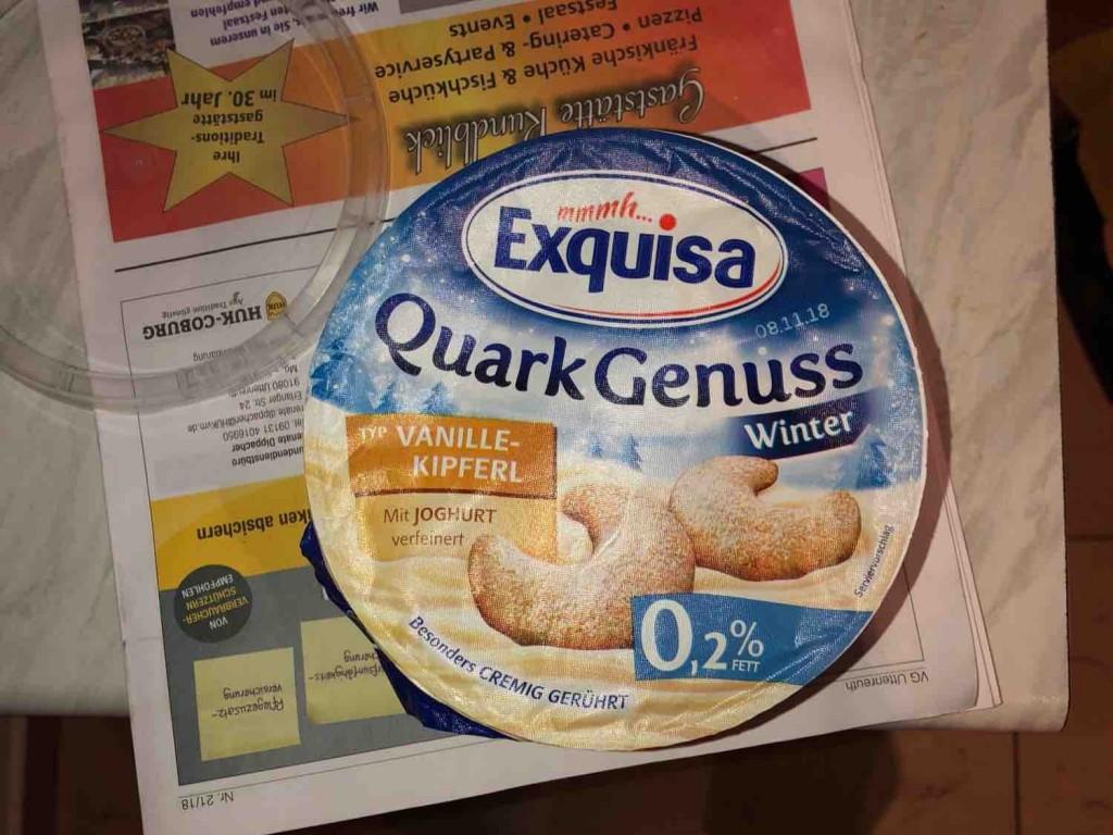 Exquisa Quark Genuss, Vanille-Kipferl von tjacelinaa | Hochgeladen von: tjacelinaa