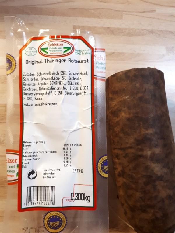 Original Thüringer Rotwurst von Lasca | Hochgeladen von: Lasca