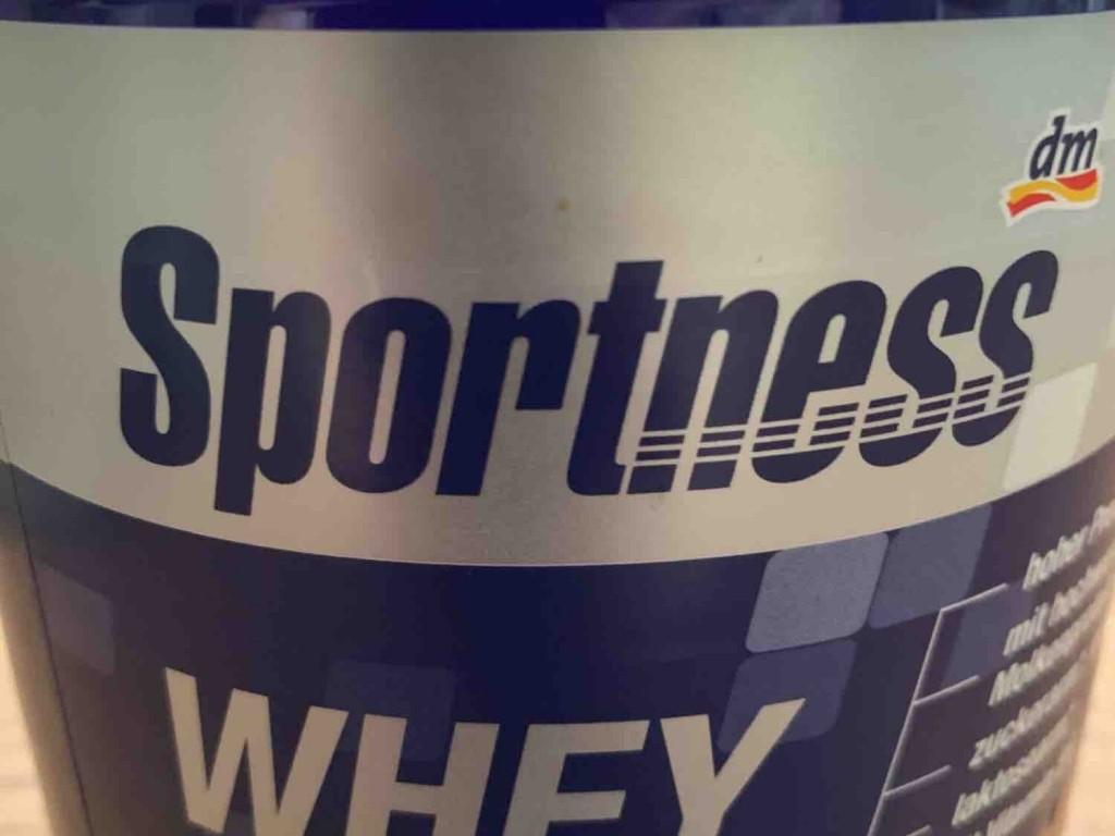 Sportness whey protein, Schokogeschmack von TrstnNbr   Hochgeladen von: TrstnNbr