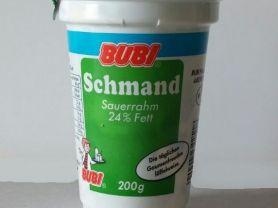 Schmand, Sauerrahm 24% Fett | Hochgeladen von: ansumi