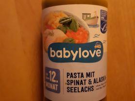 Pasta mit Spinat und Alaskaseelachs    Hochgeladen von: lorbas