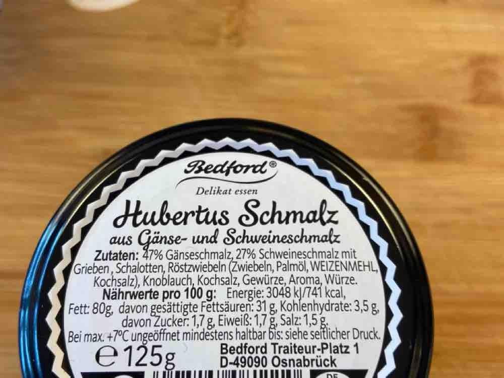 Hubertus Schmalz, aus Gänse- und Schweineschmalz von diegei | Hochgeladen von: diegei