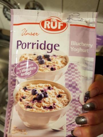 Unser Porridge, Blueberry Yoghurt von Campbell   Hochgeladen von: Campbell