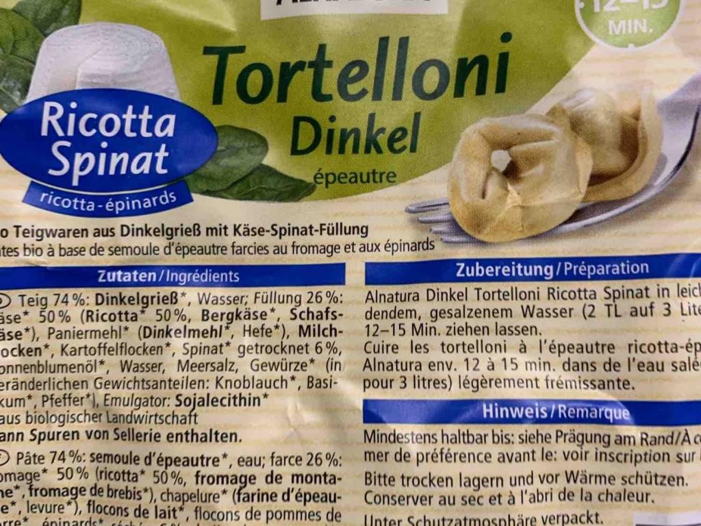 Ricotta-Spinat-Tortellini Dinkel von infoweb161   Hochgeladen von: infoweb161