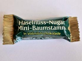 Haselnuss -Nougat Mini Baumstämme , in Vollmilchschokolade  | Hochgeladen von: FlowerKid