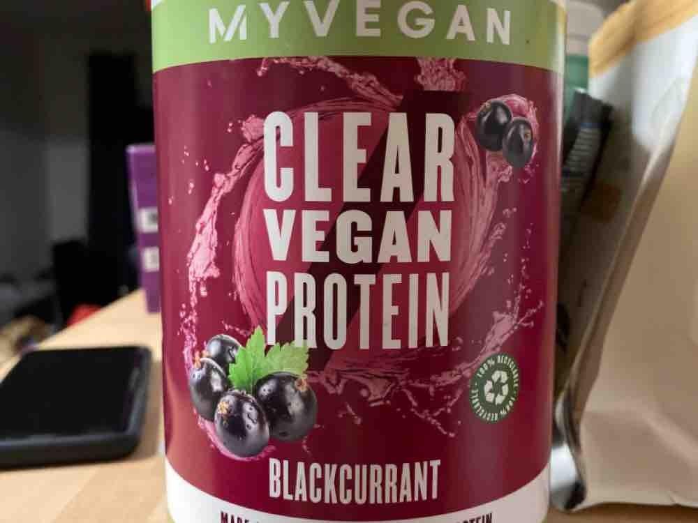 Clear Vegan Protein (Blackcurrant) von Heike97 | Hochgeladen von: Heike97
