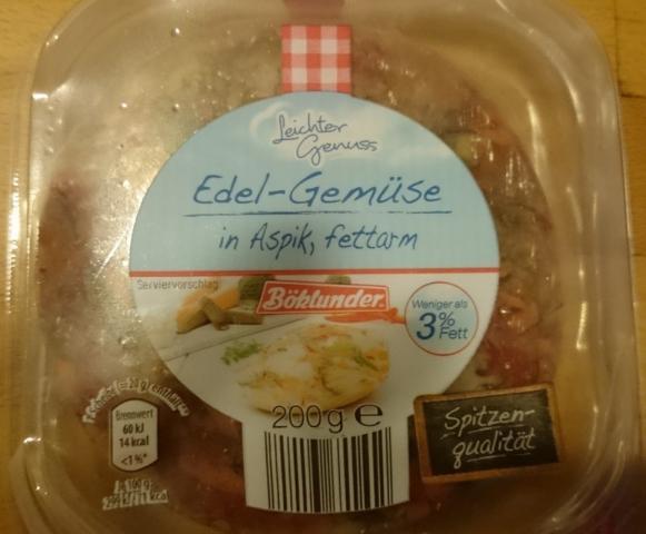 Edel-Gemüse in Aspik, fettarm (Boklunder), herzhaft  | Hochgeladen von: Grazyna25