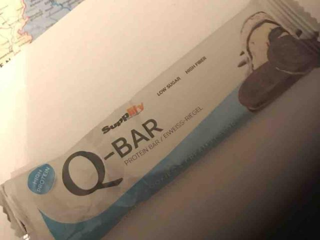 Q-Bar Protein Bar, Cookies  von nalaensagirbay | Hochgeladen von: nalaensagirbay
