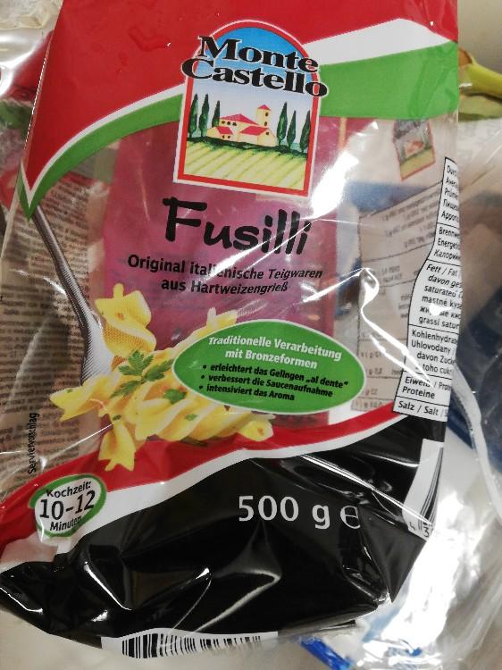 Fusilli, Teigwaren aus 100 % Hartweizengrieß von Luci13 | Hochgeladen von: Luci13