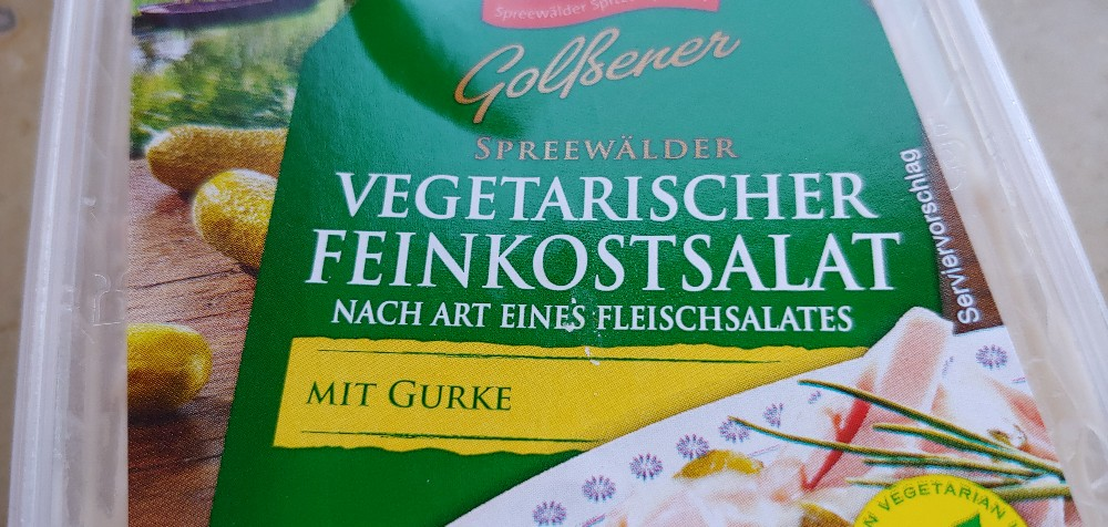 Spreewälder vegetarischer Fleischsalat , mit Gurke von hardy1912241 | Hochgeladen von: hardy1912241