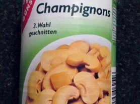 Champignons, 3. Wahl, geschnitten, Champignons   Hochgeladen von: Shady