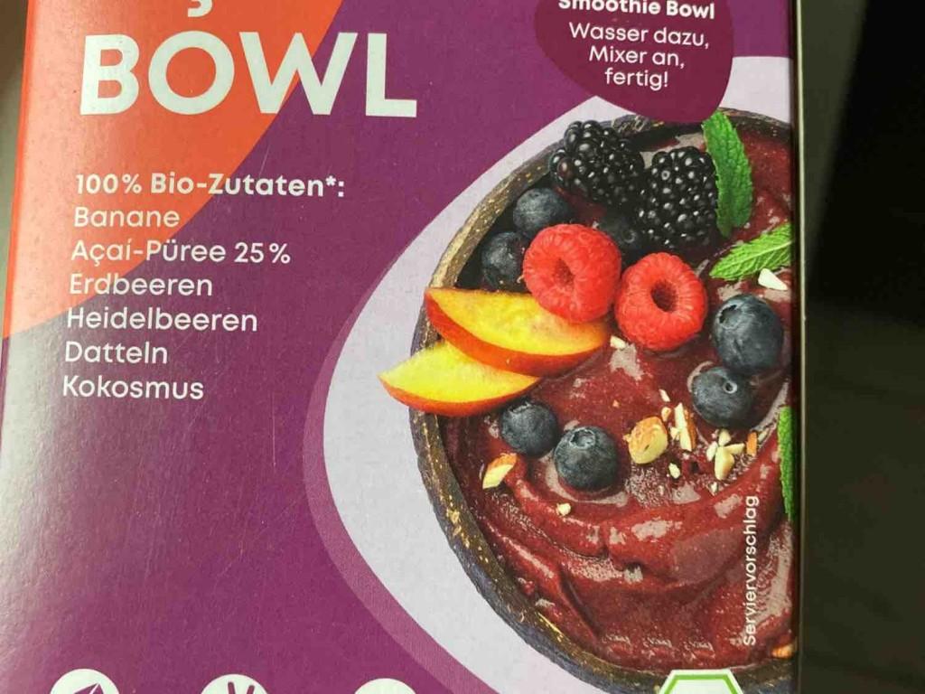 wholey smoothie bowl, peanut power von christian.beilke   Hochgeladen von: christian.beilke