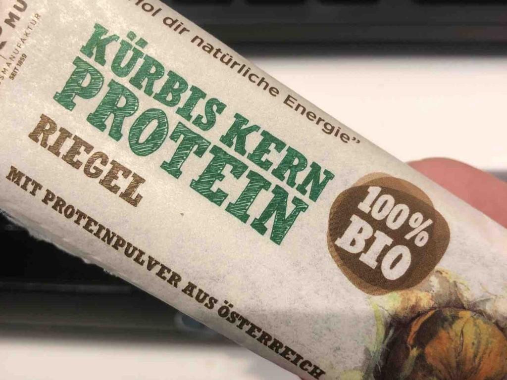 Kürbiskern Protein Riegel, 100% Bio von misss   Hochgeladen von: misss