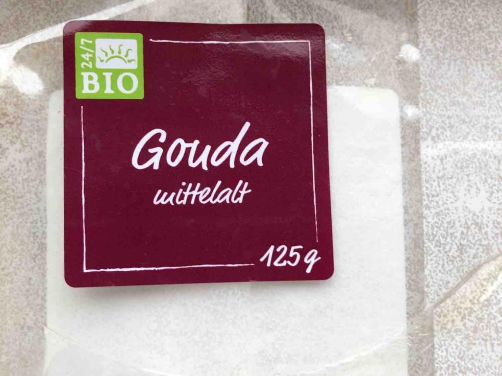 24/7 Bio Gouda mittelalt, Schnittkäse, 48 % Fett i. Tr. von Bettman | Hochgeladen von: Bettman