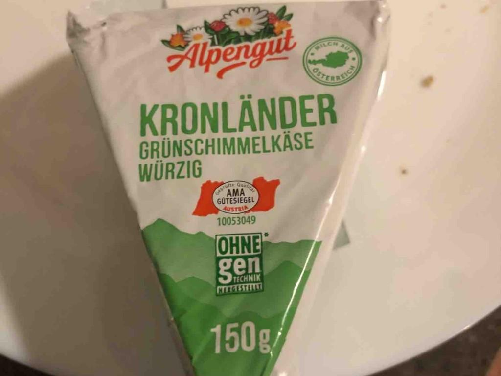 Stiftsgold - Kronländer Grünschimmelkäse, 55 % F.i.T. von Nader   Hochgeladen von: Nader