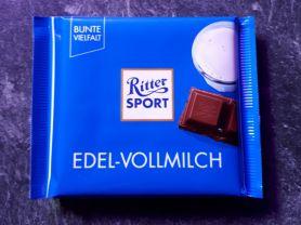 Ritter Sport Edel-Vollmilch (35% Kakao)   Hochgeladen von: Foodfant