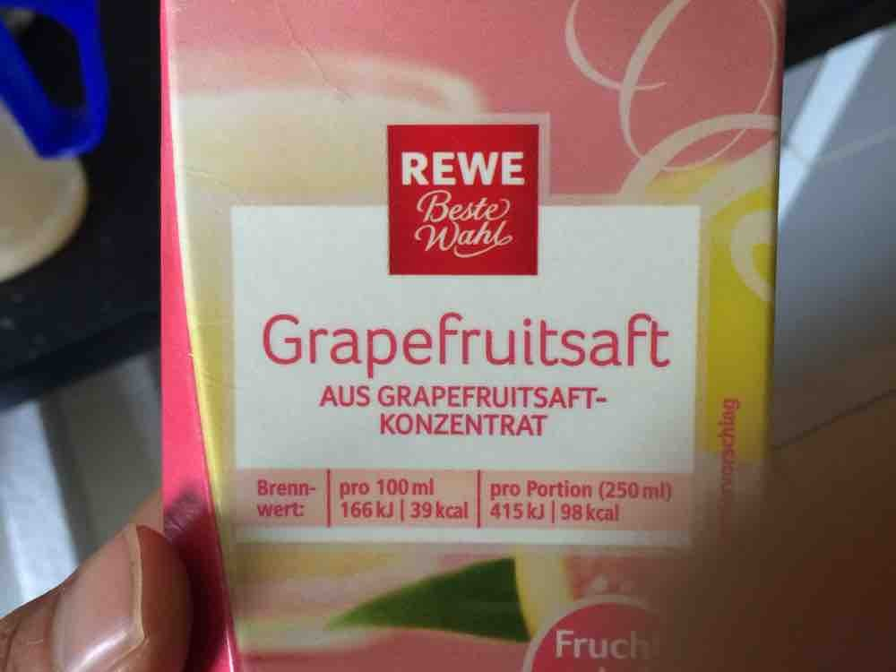 Rewe, Grapefruit Saft Kalorien - Getränke - Fddb